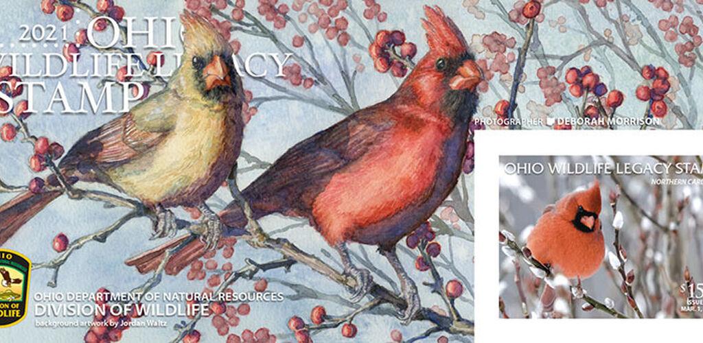 Ohio wildlife legacy stamp 2021